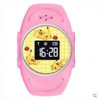 卡通可爱表盘儿童学生运动定位男女电子手表多彩防水智能插卡语音手表