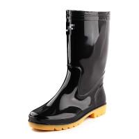 雨鞋男中筒防水防滑雨鞋套鞋胶鞋雨靴水鞋