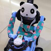 扭扭车1-3岁男女宝宝溜溜车万向轮婴儿手推车儿童音乐玩具滑行车