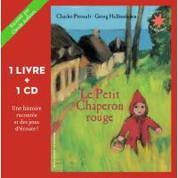 法语原版 小红帽 书+CD 法语故事书 绘本 Le Petit Chaperon rouge : 1 livre +