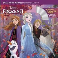 英文原版 冰雪奇缘2 绘本故事书+CD Frozen 2 Read-Along Storybook and CD