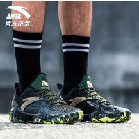 安踏篮球鞋男2018新款防滑耐磨运动鞋训练篮球战靴男11731392