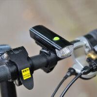 自行车灯led警示灯车前灯尾灯套装 骑行配件防水快拆闪光夜骑灯