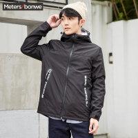 美特斯邦威棉衣男短款韩版冬季新款潮流棉服保暖外套学生S