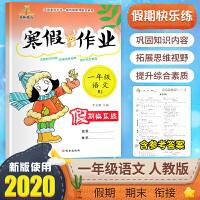 寒假作业一年级语文2020年新版人教版