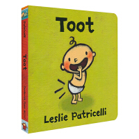 Toot 小毛孩系列放屁 脏小弟一根毛 名家Leslie Patricell 儿童英语启蒙绘本 亲子互动纸板书 英文原