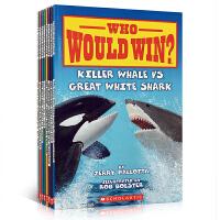 英文原版学乐科普读物【8册】Who Would Win? 谁会赢 食物链认知 Lion vs. Tiger Kille