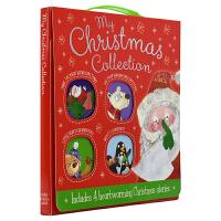 My Christmas Stories 幼儿圣诞故事绘本4册手提盒套装 礼盒装