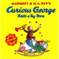 Curious George Visits a Toy Store 好奇猴乔治去玩具商店 9780618065707