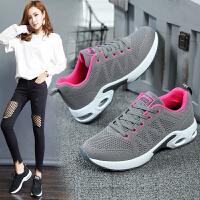 运动鞋女夏季休闲网鞋女士韩版跑步鞋新品网面透气健身单鞋女学生一脚蹬