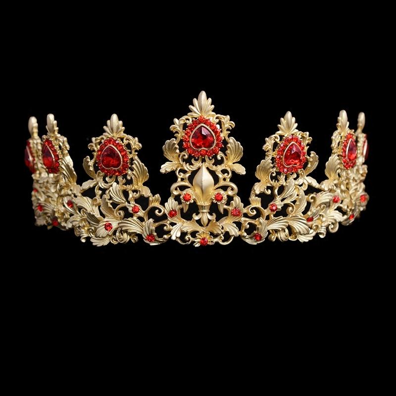 儿童皇冠饰品女童头饰公主皇冠发箍儿童头箍演出发饰女童头饰王冠