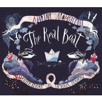 英文原版 真正的船 Victoria Semykina插画绘本 精装 The Real Boat