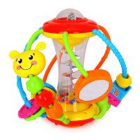 汇乐929健儿玩具球宝宝益智婴幼儿摇铃婴儿手抓球3-6-12个月一岁