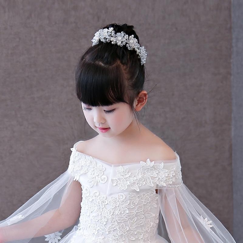 儿童头饰女童手工发饰发夹 公主皇冠儿童头饰