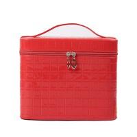 手提化妆箱化妆品收纳包防水旅行便携多层化妆包盒
