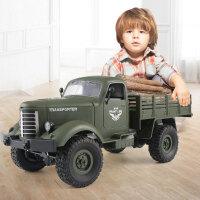 3-6-10周岁男孩子儿童玩具 遥控越野车汽车四六驱充电动大脚攀爬车