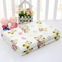 婴儿隔尿垫150*200防水加大纯棉可洗老人儿童尿不湿床单姨妈床垫 150x200cm