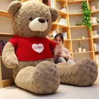 抱抱熊玩偶公仔大号泰迪熊熊猫可爱布娃娃大熊毛绒玩具生日礼物女