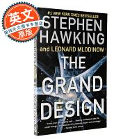 大设计 英文原版 The Grand Design 插图版 斯蒂芬霍金 Stephen Hawking 进口书 科普读