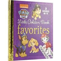 Paw Patrol Little Golden Book Favorites 汪汪队立大功 3合1故事 狗狗巡逻队 增