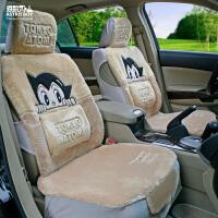 阿童木卡通汽车坐垫 冬季毛绒汽车座垫 适用于凯美瑞速腾科鲁兹