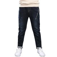 大男童牛仔裤秋冬装休闲裤儿童铅笔裤运动裤
