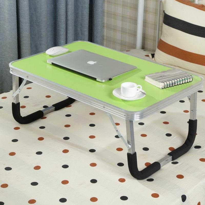 御目 电脑桌 笔记本电脑折叠桌床上用书桌新款懒人桌小桌子大学生宿舍简易学习桌书房创意家单品包邮 支持礼品卡支付,部分地区不发货