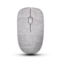 无线鼠标 亚麻布艺鼠标办公时尚鼠标笔记本电脑鼠标 商务游戏LOL DNF CF
