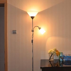 御目 落地灯 遥控调光LED落地灯护眼灯卧室床头书房客厅两用欧式子母灯学习阅读台灯满额减限时抢礼品卡创意家具