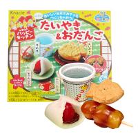 【满159包邮】日本知育果子 鲷鱼烧+丸子造型饼干 39g 台湾美味无添加剂手工儿童饼干 日本进口零食食玩一体