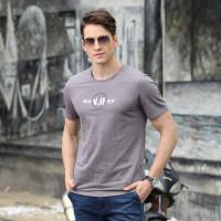 9051夏装新款吉普盾男士弹力半袖T恤衫 圆领大码休闲短袖polo衫