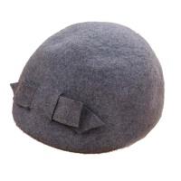 毛呢帽子女 英伦 礼帽圆顶逛街盆帽头饰小礼帽女
