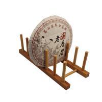 茶具配件茶架工艺摆件展示架竹制家具配件茶饼架客厅家用古典中式