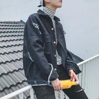 秋冬2017秋季欧美简约外套纯色长袖男士外穿时尚都市男装上衣夹克