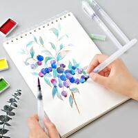 自来水笔水彩画笔套装包邮初学者工具美术画材储水笔水彩笔勾线笔