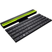 蓝牙键盘ipad苹果pro9.7平板air2手机通用mini4安卓vivo外接 折叠式蓝牙键盘-黑色