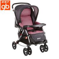 好孩子婴儿推车摇椅式儿童推车多功能全篷宝宝推车可坐可躺A513红色A513-B-L149