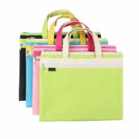 康百F6701牛津布手提包 学生用拉链试卷袋 收纳袋 资料包 文件袋