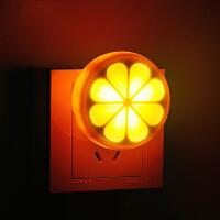 御目 小夜灯 插电led光控遥控睡眠声控感应灯卧室床头灯白领宝宝婴儿哺乳喂奶灯 创意灯具