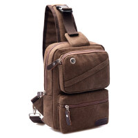 潮帆布包男包胸包单肩包斜挎包背包旅行包女包小包包