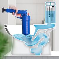 高压气家用厨房卫生间堵塞下水道工具马桶吸厕所管道疏通器一炮通