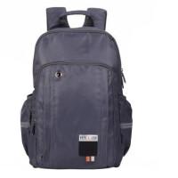 迪士尼学生书包 0438初中生休闲包 多层分格双肩包 灰色旅行背包