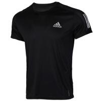 Adidas阿迪�_斯男�b�\�臃�透�庑蓍e跑步短袖上衣T恤FS9799