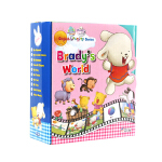 文脉书局 英文原版点读绘本启蒙儿童Brady s World教学早教套装 支持小BOOK点