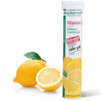 【2支装】德国altapharma VC泡腾片 柠檬味 维生素C 20片*2