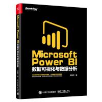 Microsoft Power BI数据可视化与数据分析 PowerBI入门教程书籍 商业智能数据分析 PowerBI