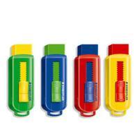 施德楼STAEDTLER 525 PS1S 彩色可推式橡皮 环保健康不含PVC 单个(颜色*)