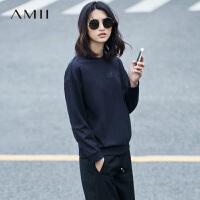 【AMII年终回馈 *价秒杀】AMII[极简主义]秋冬女装立领修身大码加厚外套羽绒服11632610