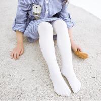 3条装 南极人 夏季薄款儿童连裤袜白色天鹅绒学生舞蹈袜高弹打底裤纯色袜子