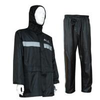 雨衣雨裤套装分体户外反光雨衣套装成人男劳保雨衣摩托车双层防水